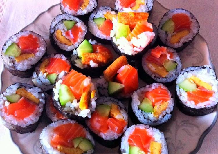Kanya's Easy Sushi At Home