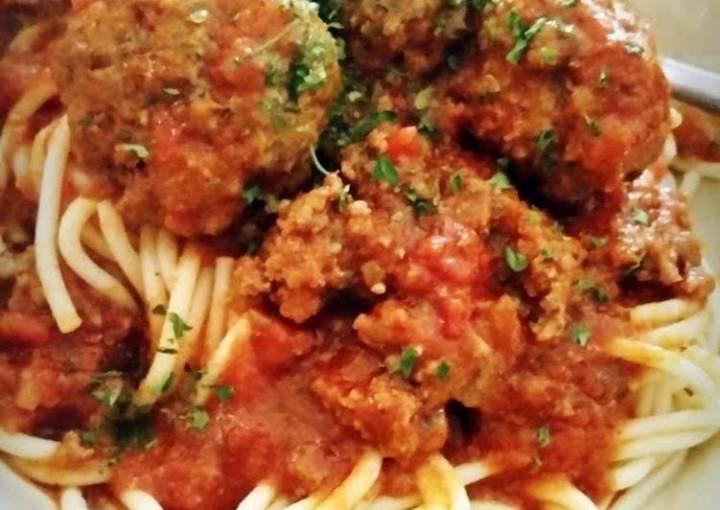 Ray's' Easy Spaghetti & Meatballs