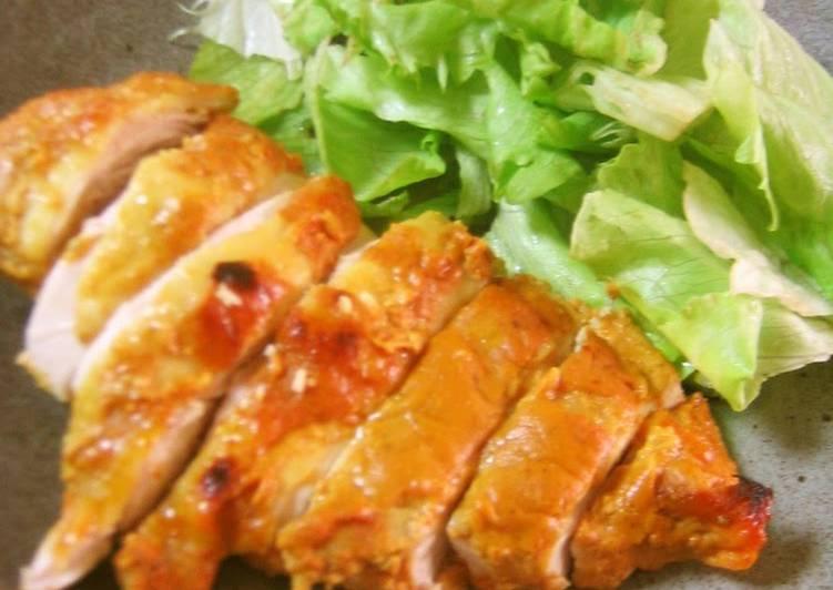 Simple, Moist, and Tender Tandoori Chicken