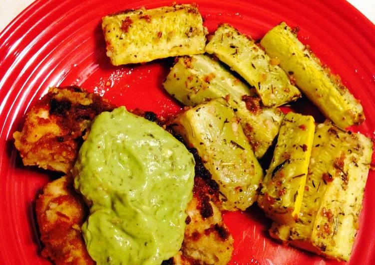 Brenda's 15 minute Paleo Creamy Avocado Pasta Sauce