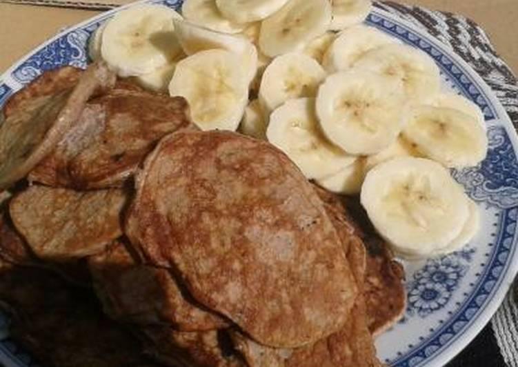 Healthy delicious pancakes