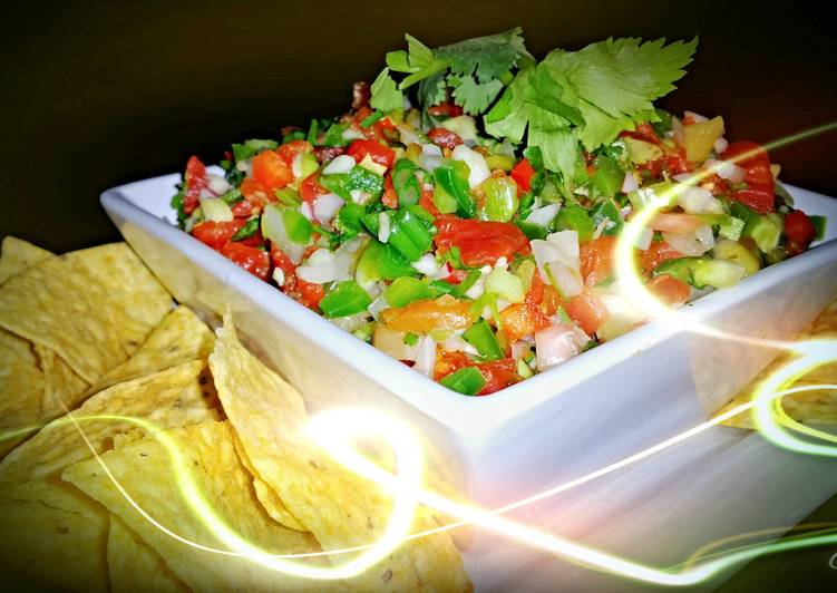 Mike's Garlic Salsa Fresca Or Ceviche