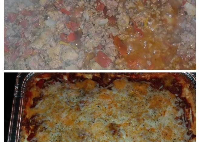 BgCtGal's 3 Meat N Cheese Lasagna