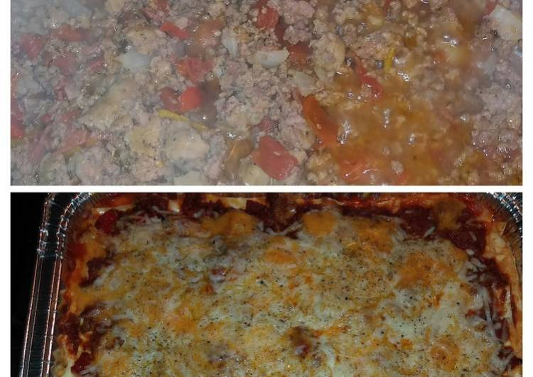 BgCtGal's 3 Meat N Cheese Lasagna