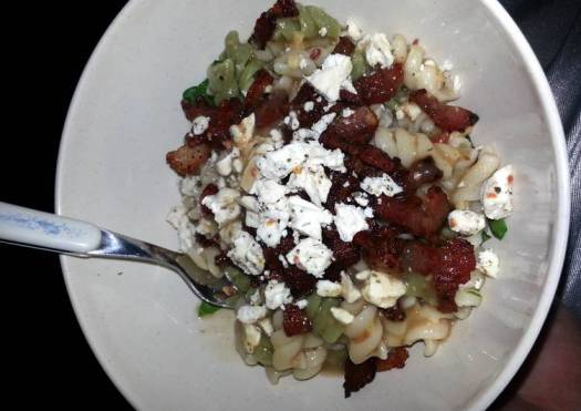 Bacon Cesar Pasta Salad