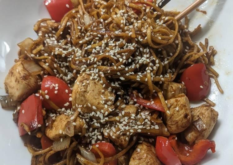 Spicy Chicken Noodles