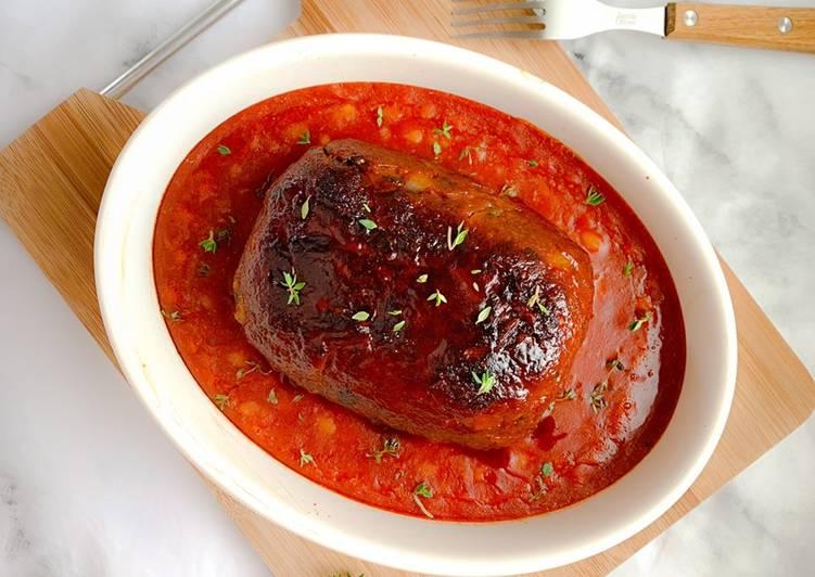 Glazed meatloaf