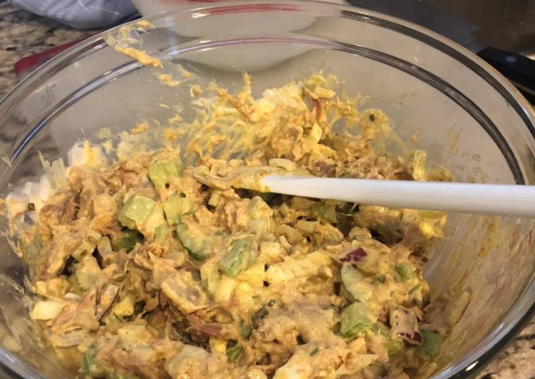 Mike's curry tuna salad