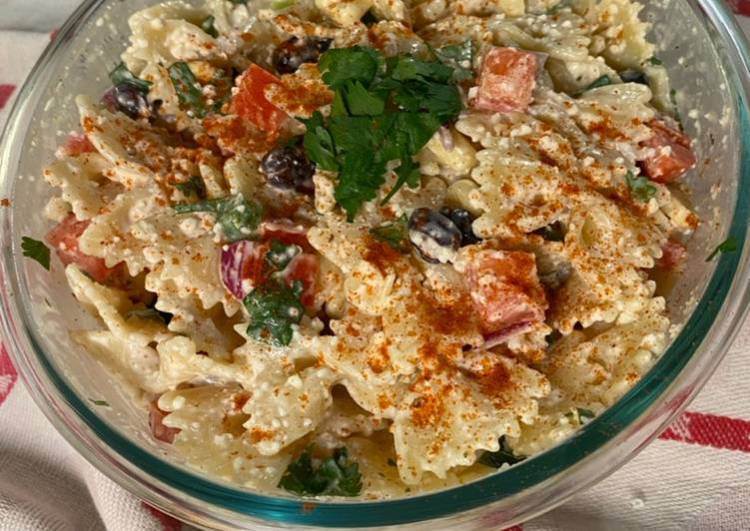 Chef Miguel's Creamy Spicy Mexican Pasta Salad