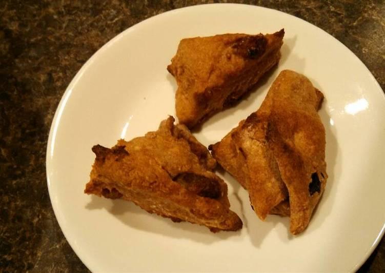 Soaked Mulberry-raisin Spelt scones (Vegan Verion)