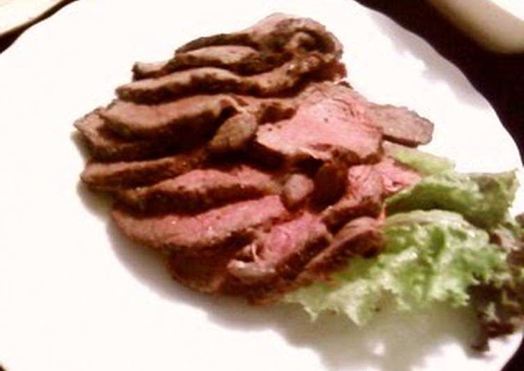 Roast Beef for a Birthday Dinner