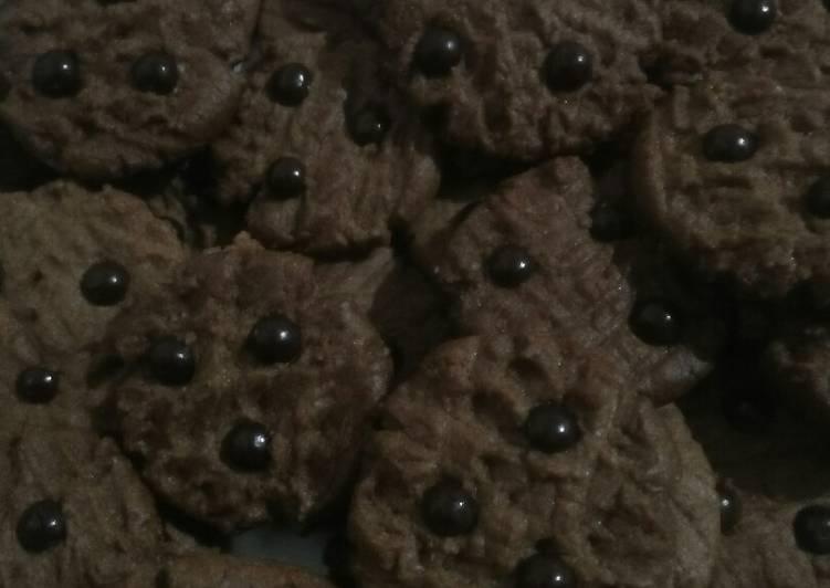 Kue kering coklat (simpel)