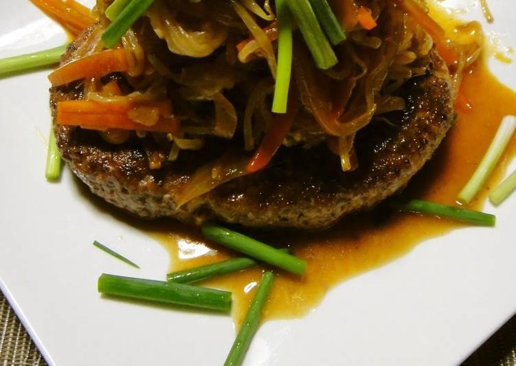 A Chef's Recipe for Korean Style Bulgogi Tofu Hamburgers