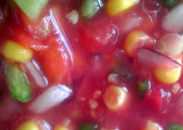 Chunky Garden Salsa