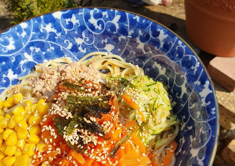 Japanese Reimen (chilled noodles)
