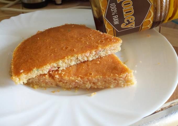 Honey And Gluten Free Strawberry Funfetti Cake