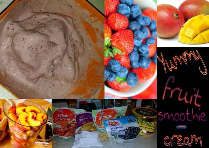 KJ Yummy Fruit Smoothie Cream