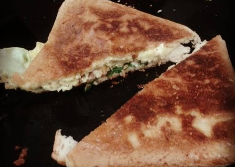 Grilled Cheese and Egg Sandwich