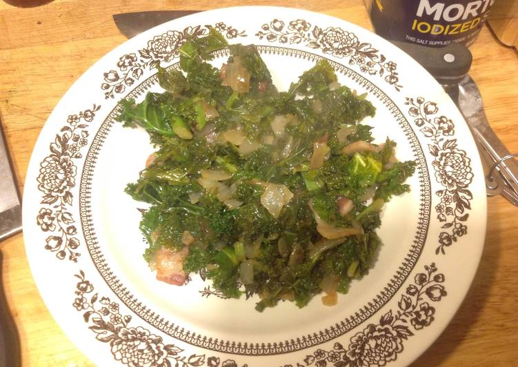 Sweet And Sour Kale