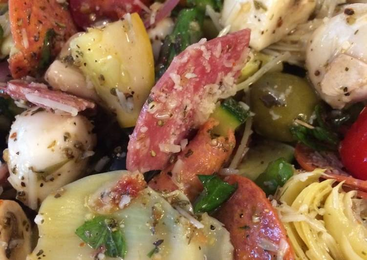 Antipasto Salad (Keto)