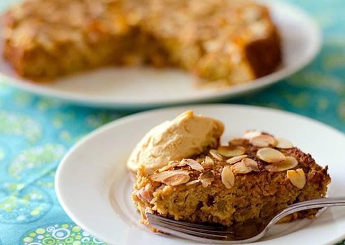 Almond & Rhubarb Cake (Gluten-Free)