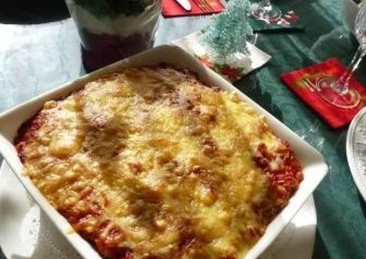 Vegetable and Kurumabu Lasagne