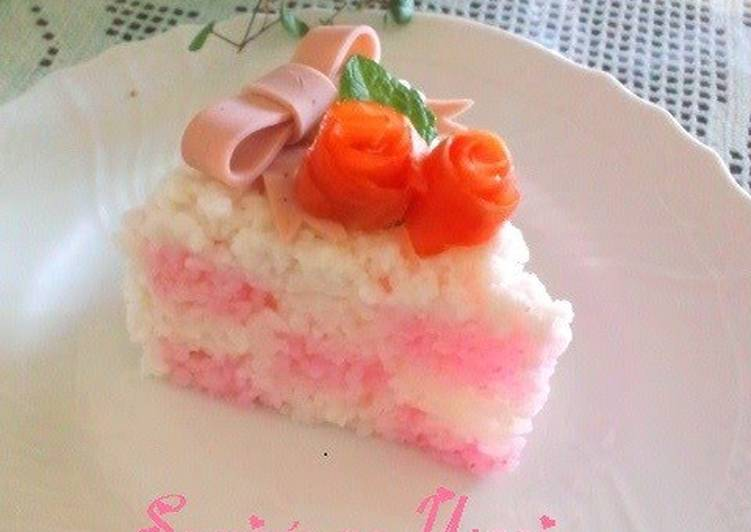 Damie Checkered Sushi Cake For Mother's Day