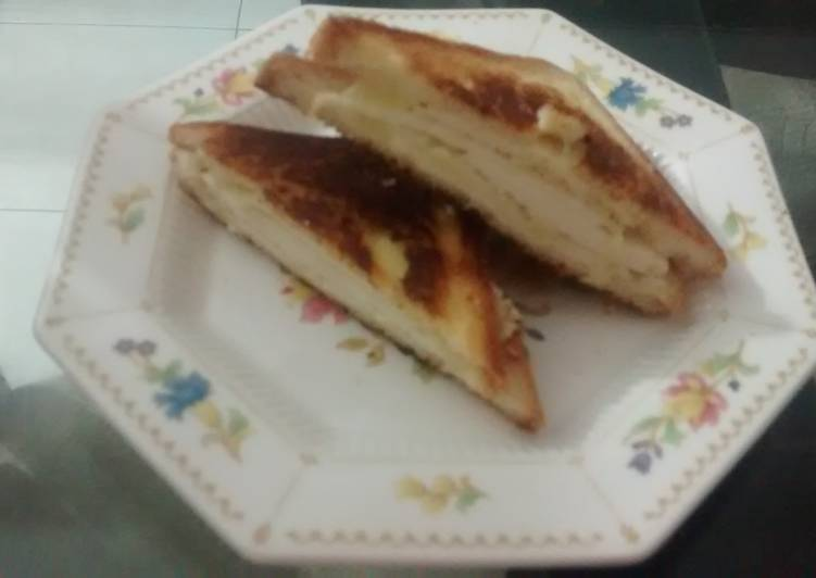 Cheese swiss sandwich