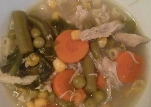 Turkey Escarole Soup