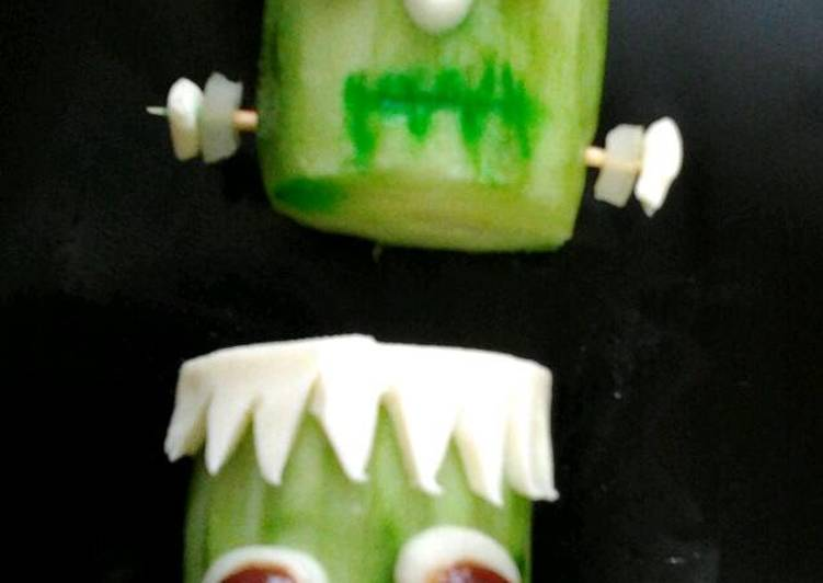 Ladybirds Frankenstein Cucumbers