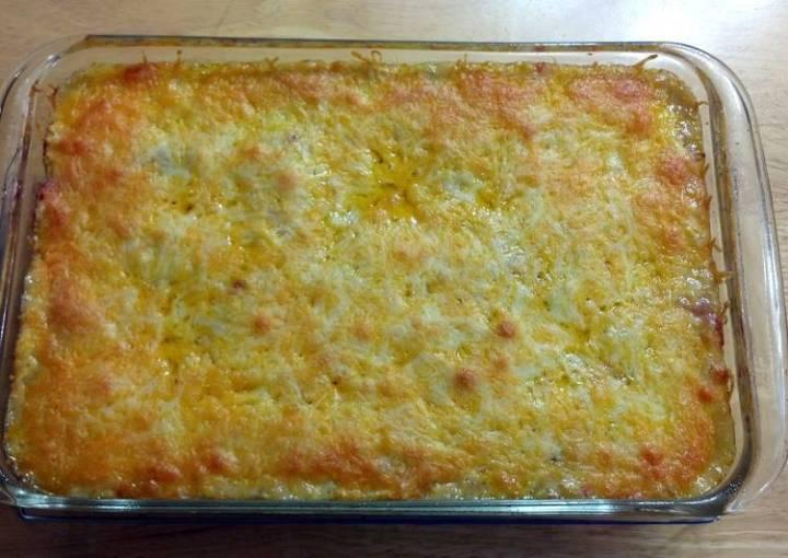 Amazing Chicken Enchilada Casserole