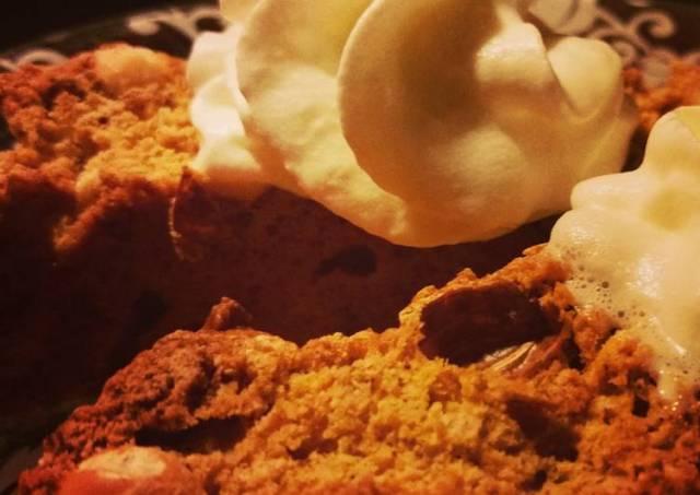 Pumpkin and Peanut Biscotti Cantucci