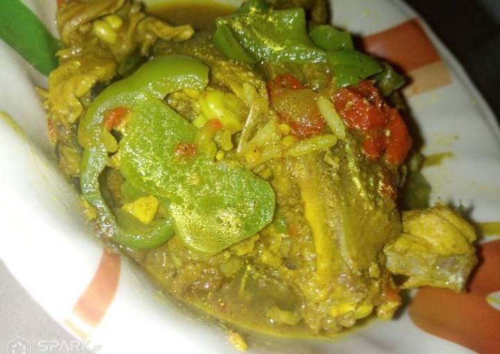 Chicken wings pepper soup