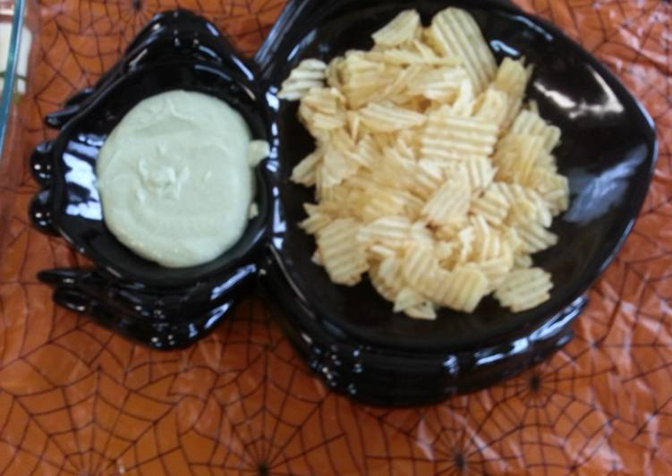 Green gobblin' sauce