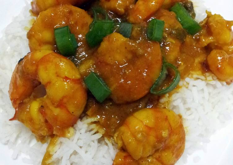 Curry Shrimp by Pam...
