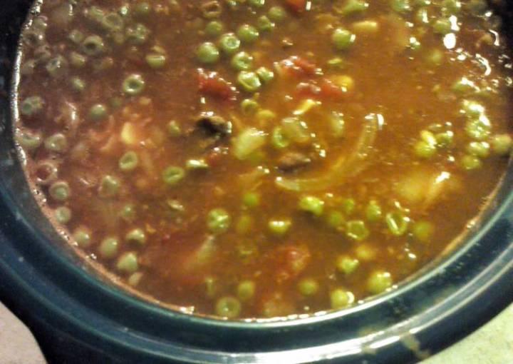 Crock Pot Easy Chili Vegetable Soup