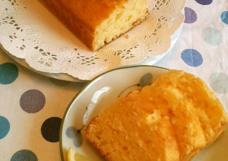 Just Mix and Bake Lemon Yogurt Cake