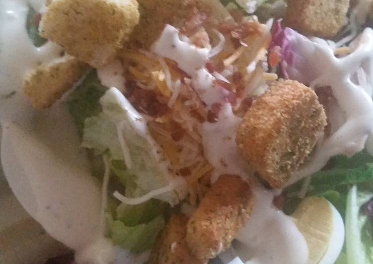 Simple ranch egg salad