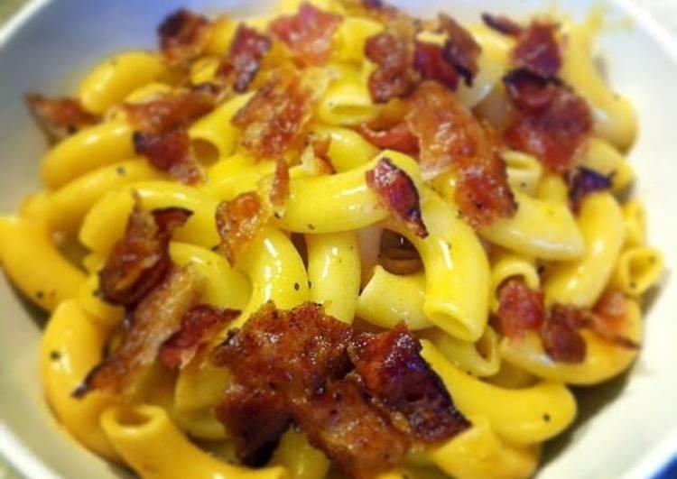 Creamy Bacon Mac And Cheese
