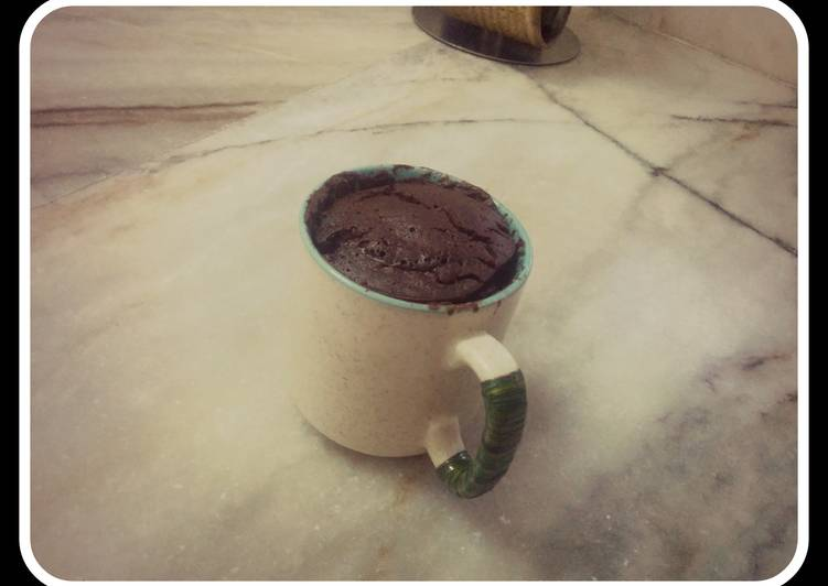 Yummy chocolate egg less mug cake