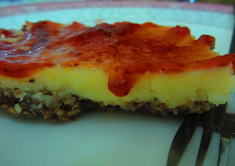 No-cheese cheesecake!