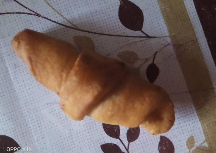 Fried croissants mini