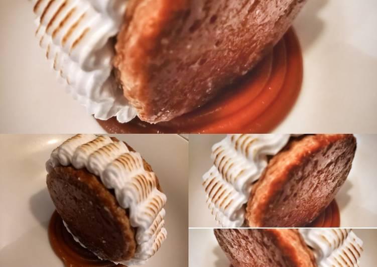 Galette crème glacée à la vanille