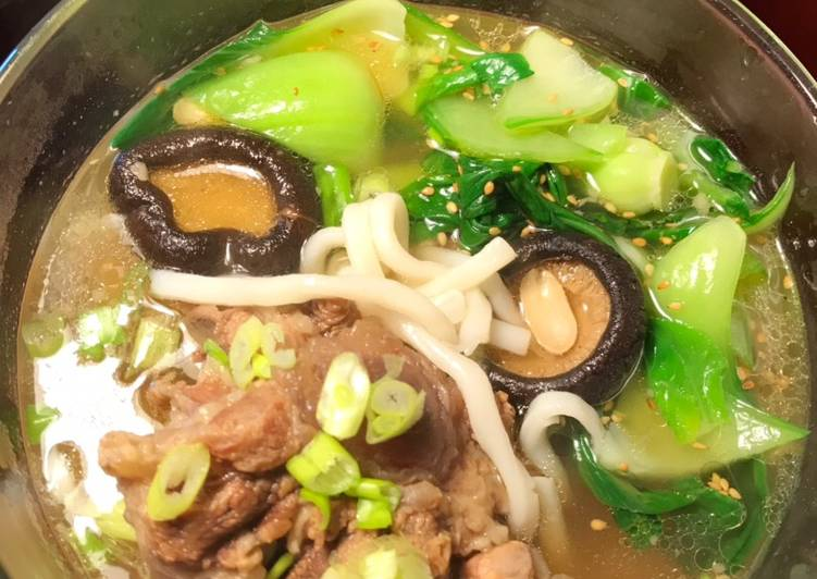 Oxtail Udon