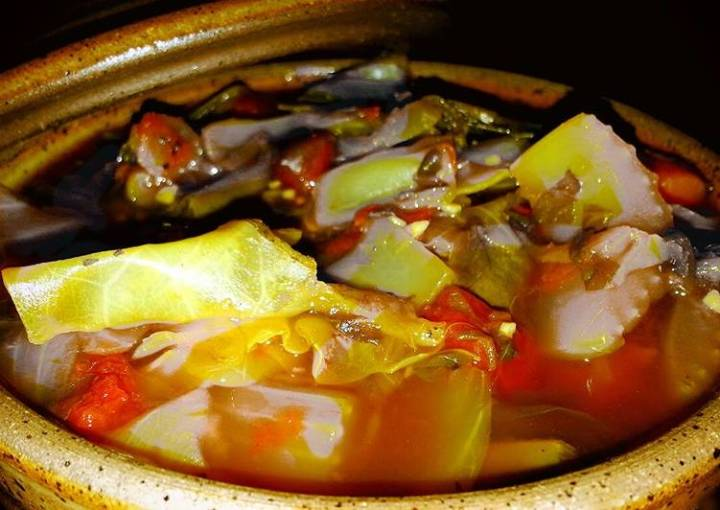 Mike's Negative Calorie Vegetable Beef Soup