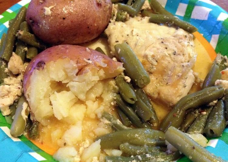 Zesty Chicken Potatoes & Green Beans
