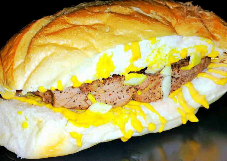 Mike's Easy Prego Steak Sandwiches