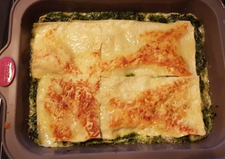 Lasagne epinard et saumon
