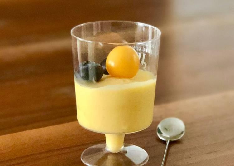 Frozen mango yoghurt 🥭🍦