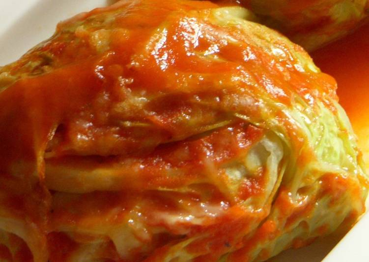 Vegan cabbage roll